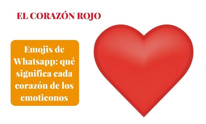 Emojis de Whatsapp: qué significa cada corazón de los emoticonos