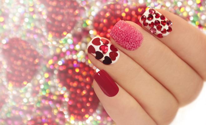 Ideas para tu manicura para San Valentín