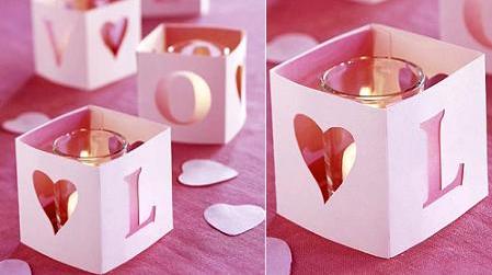 Manualidades f ciles para sorprender a tu pareja en san for Decoracion de pared para san valentin