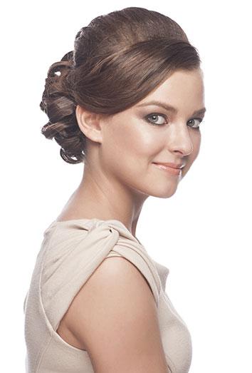 amazing el moo bajo el peinado ms elegante para un look formal with peinados de moos altos - Peinados De Moos