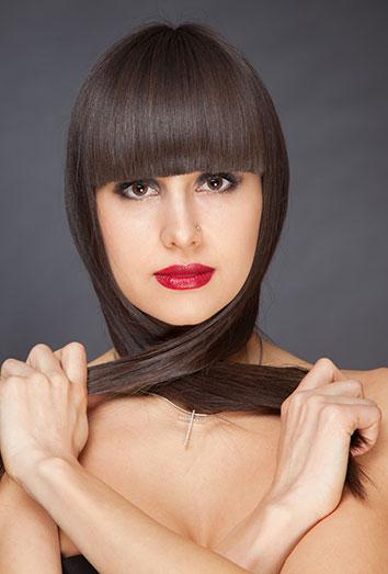C mo peinarse con flequillo recto el peinado que siempre - Que peinados estan de moda ...