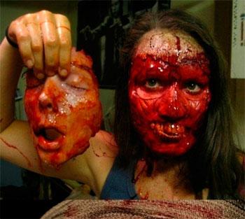 un maquillaje extremo para halloween