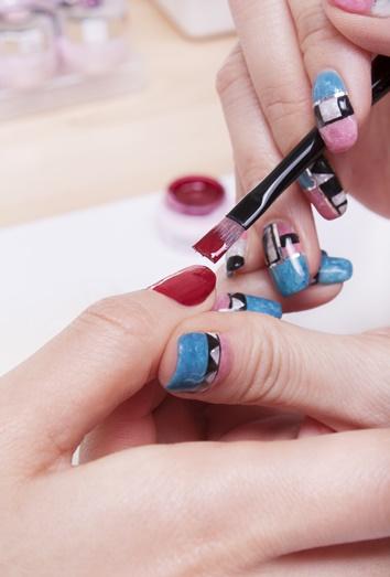 Cómo Pintar Unas Uñas De Gel Acrílicas