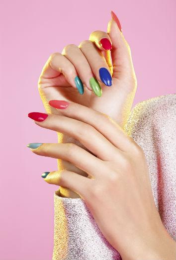 Diseños de uñas juveniles para 2016