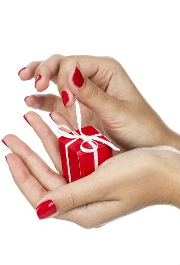 5 diseos para uas cortas en Navidad tu manicura ms sexy