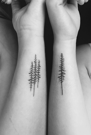bosques hojas y vida el significado de tatuajes de rboles