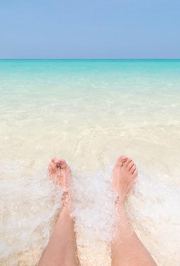 Los cuidados de las uas de los pies en verano