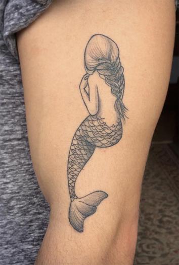 Tatuajes De Sirenas La Rebeldia De Un Significado Sensual