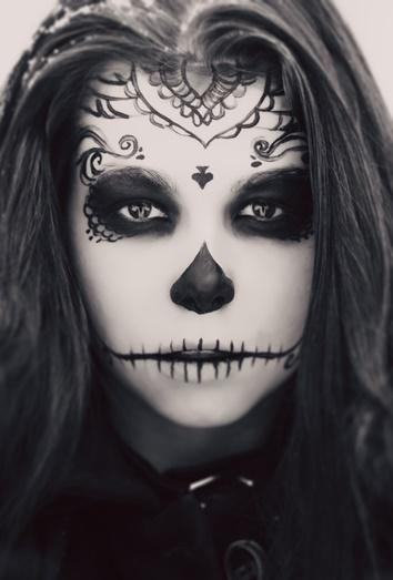5 pasos para hacer un maquillaje de catrina en Halloween muy fcil