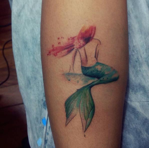 Ideas De Tatuajes En Las Piernas Para Chicas Sexys