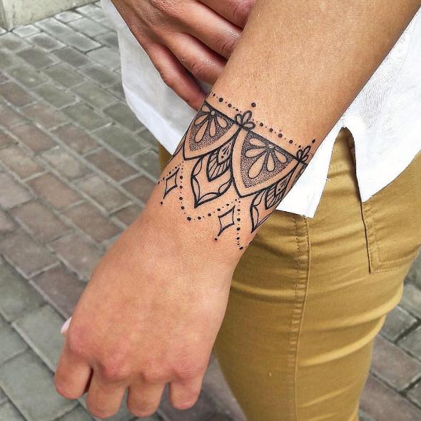Tatuajes Pulsera O Brazalete La Ultima Moda