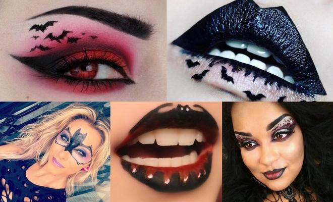 Más de 150 ideas de maquillaje para Halloween