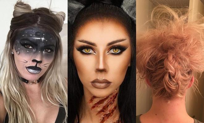 Más de 60 ideas de peinados para Halloween de gato