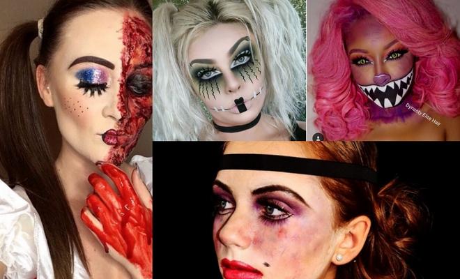 Más de 60 ideas de peinados para Halloween de muñeca diabólica
