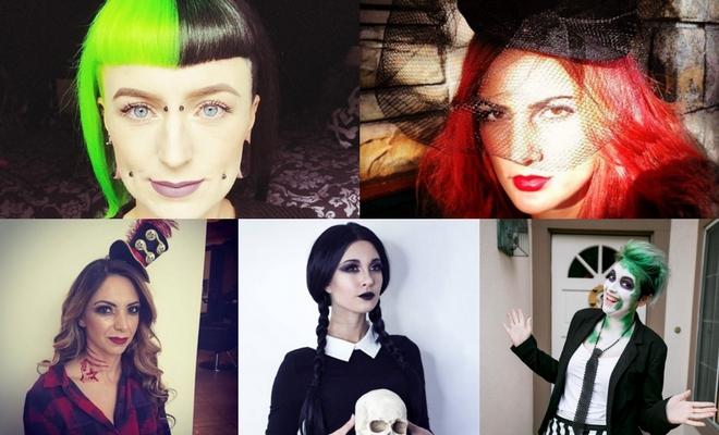 Más de 60 ideas de peinados para un Halloween de miedo