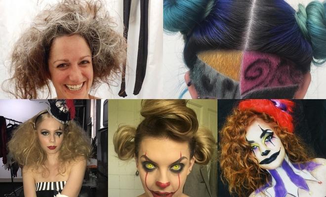 Más de 60 ideas de peinados para Halloween de payaso