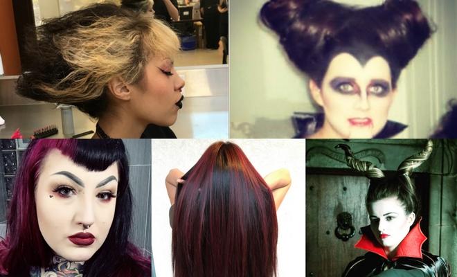 Más de 60 ideas de peinados para Halloween de vampiresa