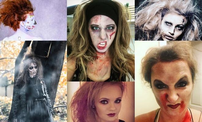Más de 60 ideas de peinados para Halloween de zombie