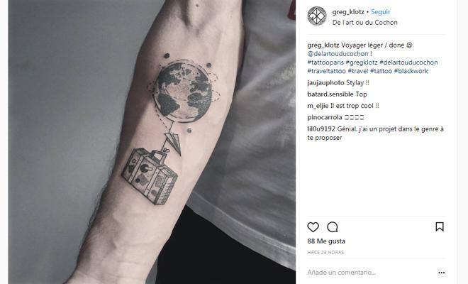 Te Gustan Los Tatuajes Y Viajar Atenta A Estos Disenos