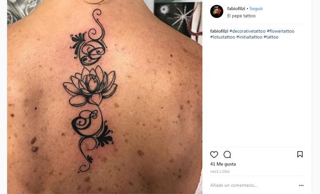 Tatuajes De Iniciales Homenaje A Esa Persona Especial
