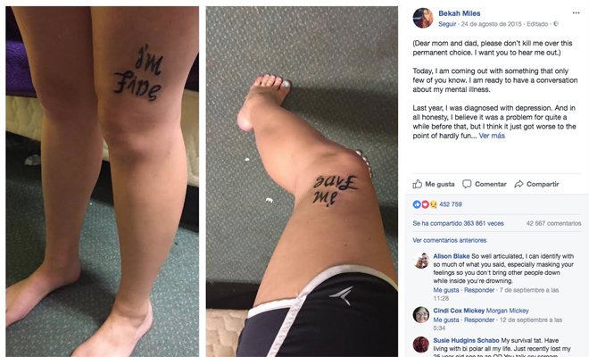 El efecto terapéutico de los tatuajes