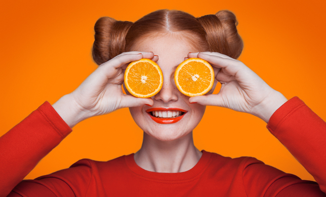 101 tricks for perfect hair: fruits with vitamin C