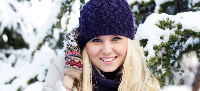 Cuidados faciales contra el frío