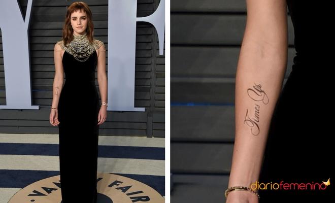 Time's Up: El tatuaje reivindicativo de Emma Watson
