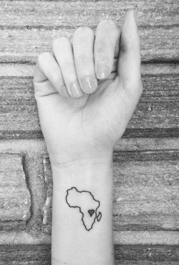 La cultura africana y el significado de los tatuajes de frica