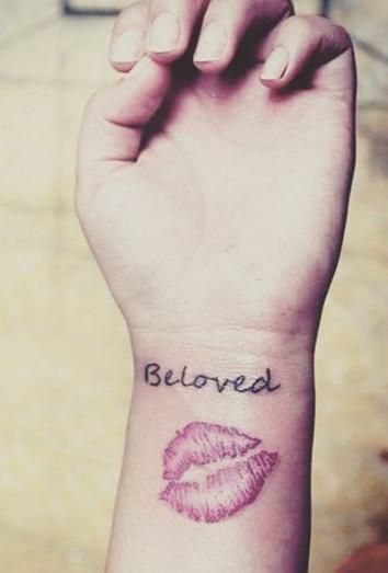 Amor Y Sexo El Significado De Los Tatuajes De Besos