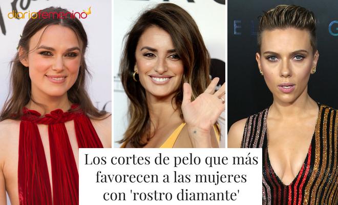 Los Cortes De Pelo Que Más Favorecen A Las Mujeres Con Rostro Diamante