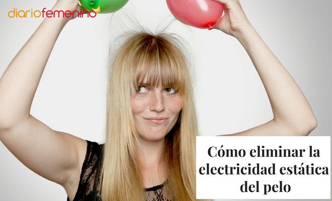 C mo eliminar la electricidad est tica del pelo for Eliminar electricidad estatica oficina