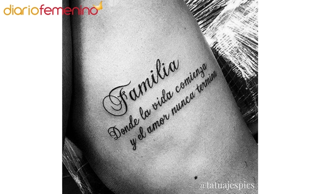 Las Frases Para Tatuarse Que Mejor Le Van A Un Hombre
