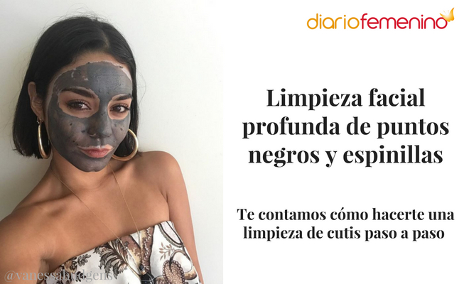 Limpieza Facial Profunda De Puntos Negros Y Espinillas