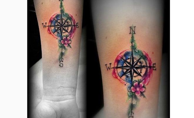 Que Significan Los Tatuajes De Puntos Cardinales