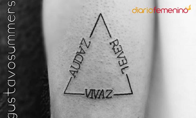 Significado de los tatuajes de tri ngulos for Significado de la palabra minimalista