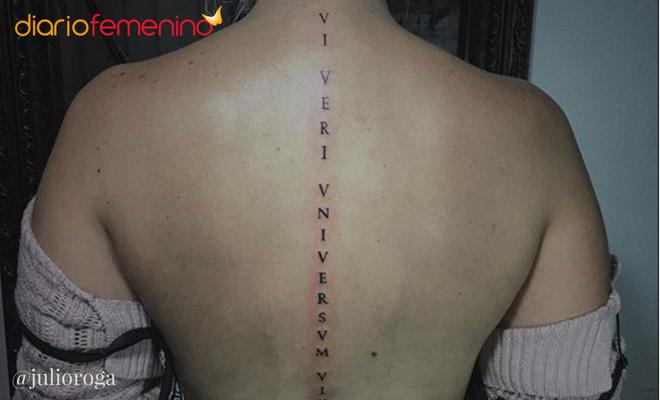 Tattoos En La Espalda El Significado De Los Tatuajes En La Columna