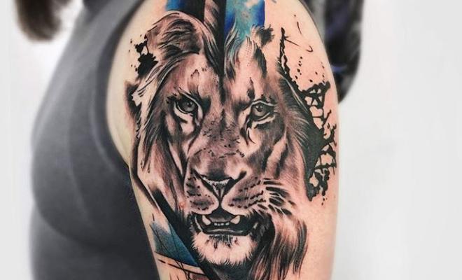 Los 6 Significados De Los Tatuajes De Cara De Leon