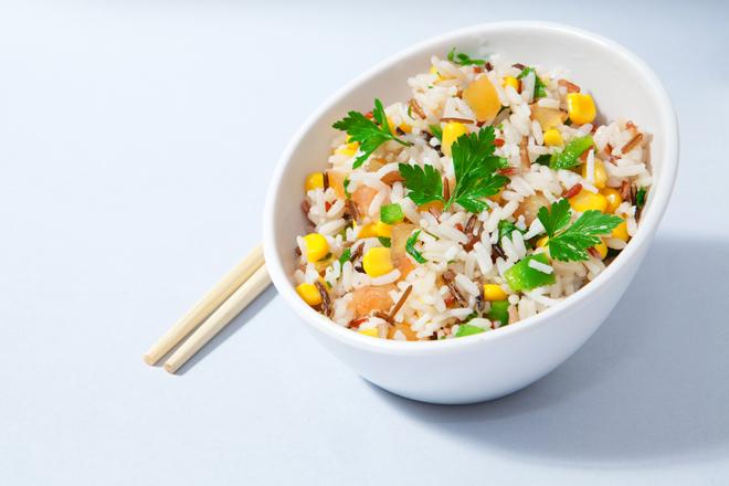 Dieta atún y arroz