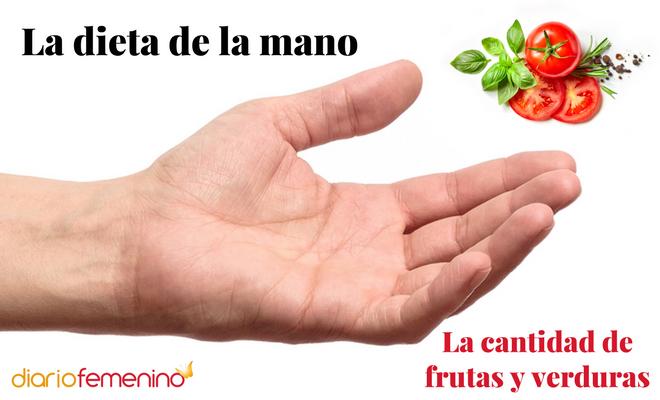 La verdura que hay que tomar según la dieta de la mano