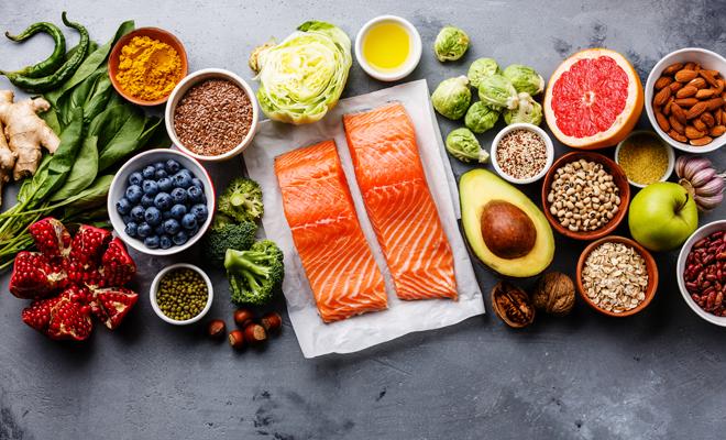 Dieta balanceada ejemplo