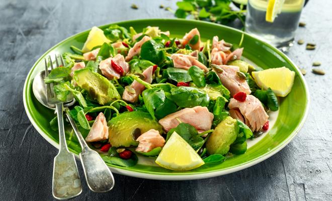 como bajar de peso con puras ensaladas
