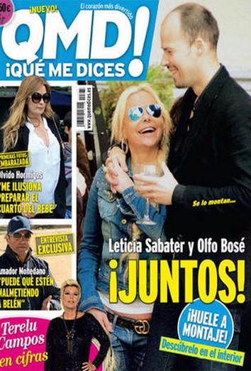 Leticia Sabater y Olfo Bosé, pillados juntos: el montaje