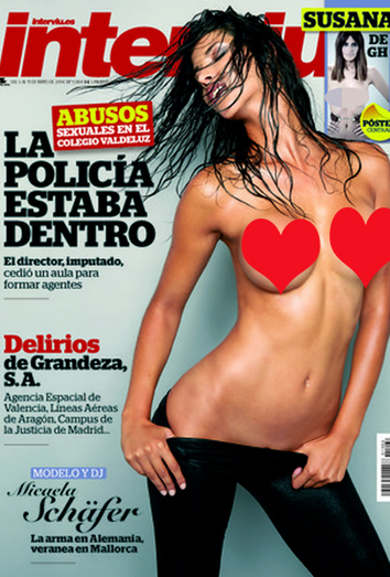 Micaela Schäfer La Alemana Más Latina Desnuda En Interviú
