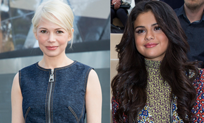 Selena Gomez y Michelle Williams