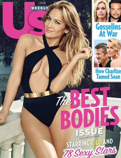 Jennifer Lopez, portada de Us Weekly