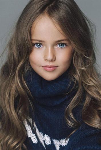 As Es Kristina Pimenova, La Modelo Ms Joven Del Mundo