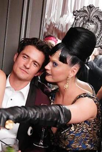 Orlando Bloom y Katy Perry, juntos en la MET Gala 2016