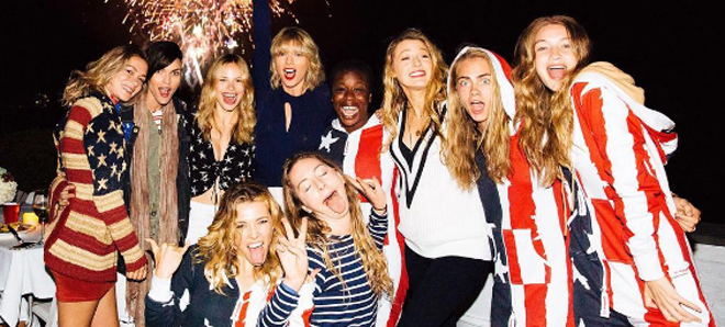 El squad de Taylor Swift