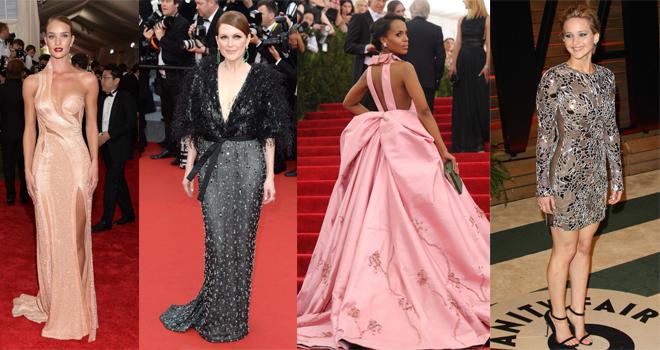 vestidos de fiesta: viste como las famosas